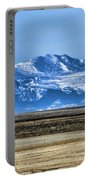 Snowy Rockies Portable Battery Charger