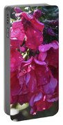 Soaked Phlox Portable Battery Charger