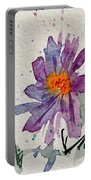 Soft Asters Portable Battery Charger