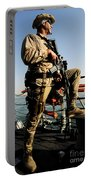 Soldier Stands Watch Aboard Uss Momsen Portable Battery Charger