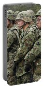 Soldiers From The Japan Ground Self Portable Battery Charger by Stocktrek Images