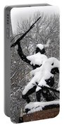Soldiers In The Snow Portable Battery Charger