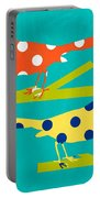 Song Birds Portable Battery Charger by Linda Woods