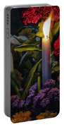 Soothing Candle Light Portable Battery Charger