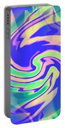 Sorbet Dreams Portable Battery Charger by Shana Rowe Jackson