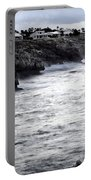 Menorca South Coast In A Stormy Mediterranean Day Portable Battery Charger