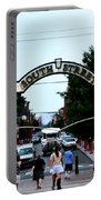 South Street - Philadelphia Portable Battery Charger by Bill Cannon