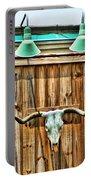 Southwestern Longhorn Skull Portable Battery Charger