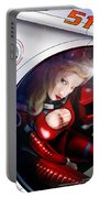 Space Girl Portable Battery Charger