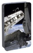 Space Shuttle Discovery Docked Portable Battery Charger