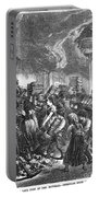 Spain: Escorial Fire, 1873 Portable Battery Charger