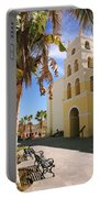 Spanish Mission In Todos Santos Portable Battery Charger