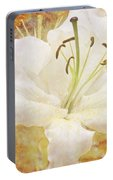 Sparkling Lily Portable Battery Charger