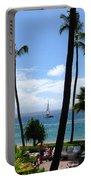 Sparkling Sea At Kaanapali Maui Portable Battery Charger