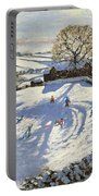 Sparrowpit Derbyshire Portable Battery Charger by Andrew Macara