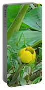 Spatterdock Wild Yellow Water Lily - Nuphar Lutea Portable Battery Charger