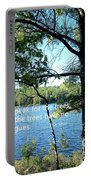 Speak For The Trees Portable Battery Charger