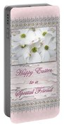 Special Friend Easter Card - Flowering Dogwood Portable Battery Charger