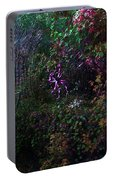 Spider Web In The Magic Forest Portable Battery Charger