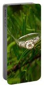 Spider Webs And Diamond Rings 10 Portable Battery Charger