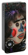 Spiderwoman Scarecrow Portable Battery Charger