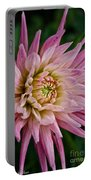 Spiked Dahlia Portable Battery Charger