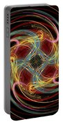 Spin Fractal Portable Battery Charger