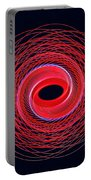 Spiral Abstract 24 Portable Battery Charger
