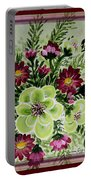Spiral Bouquet  Portable Battery Charger