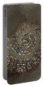 Spiral Textures Portable Battery Charger
