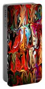 Spirit Of Mardi Gras Portable Battery Charger