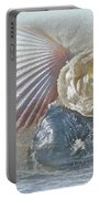 Spirit Of The Sea - Seashells And Surf Portable Battery Charger