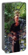 Spirit Rising From The Creek Portable Battery Charger