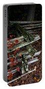 Split Rail Fence Portable Battery Charger