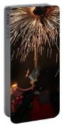 Spray Of Sparks Portable Battery Charger