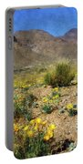 Spring Bloom Franklin Mountains Portable Battery Charger