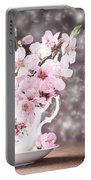 Spring Blossom Portable Battery Charger by Amanda Elwell