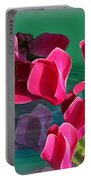 Spring Cyclamen Portable Battery Charger