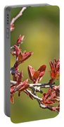 Spring Leaves Greeting Card Blank Portable Battery Charger