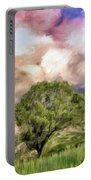 Spring Storm In Tuscany Portable Battery Charger