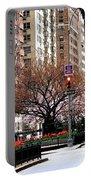 Springtime On Park Avenue Portable Battery Charger