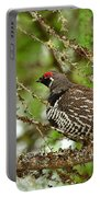Spruce Grouse Portable Battery Charger
