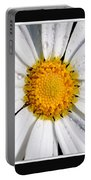 Square Daisy - Close Up 2 Portable Battery Charger