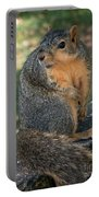 Squirrel Looking For A Hand Out Portable Battery Charger