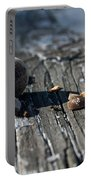 Squirrel Trash Portable Battery Charger