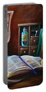 Srb Candlelit Library Portable Battery Charger