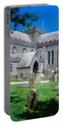 St Canices Cathedral &, Round Tower Portable Battery Charger