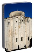 St. Donatus Church In Zadar Portable Battery Charger
