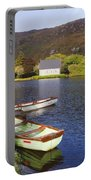 St. Finbarres Oratory And Rowing Boats Portable Battery Charger
