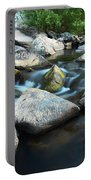 St Francis River At Dusk I Portable Battery Charger